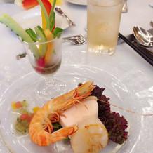 生魚が食べられない方用の前菜