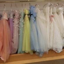レンタルのドレス