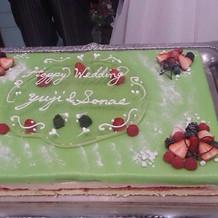 北欧伝統のプリンセスケーキ。
