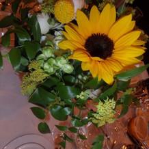 各卓の装花2