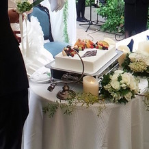 辻シェフのケーキ