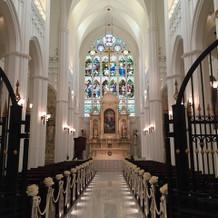 大聖堂内装