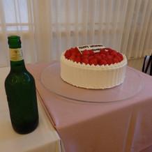 ウェディングケーキ&ビール☆