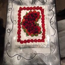 二次会ケーキ