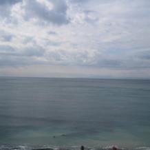 チャペルからの海