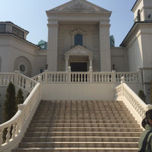 大階段がとても素晴らしかった