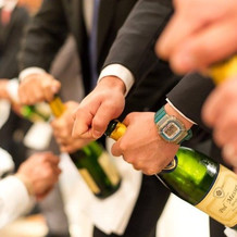 シャンパンオープンセレモニー