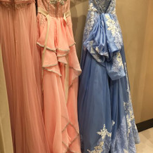 トリートドレッシングのカラードレス