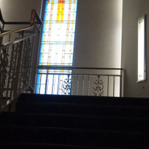 階段であがりました