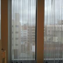 チャペルの窓の外