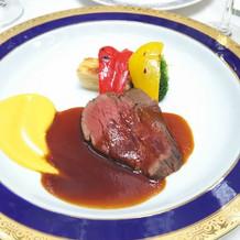 特選牛フィレ肉のポアレ