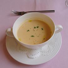 濃厚なスープでした