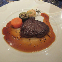 柔らかく美味しいステーキ