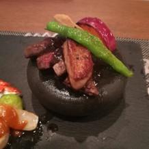 肉料理アップ