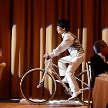 自転車でスイスイいけます