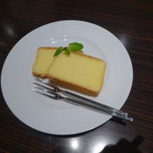 人気なレモンケーキ