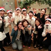 クリスマスパーティーも楽しかったです!