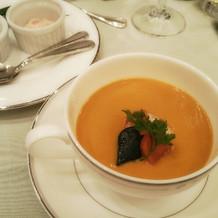 えびが凝縮された濃厚スープ。絶品!