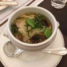 和風なスープ