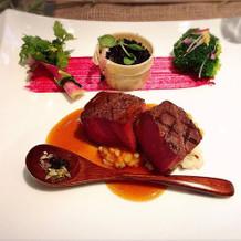 野菜のブーケと鉢植え☆お肉美味しいです!