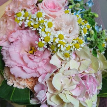 お花が綺麗でした