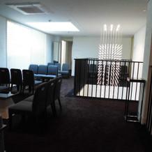 ゲストの待合スペース