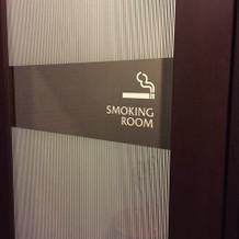 もちろん喫煙ルームも