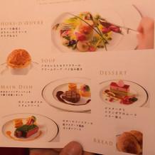 こちらがメニュー表。贅沢な試食会でした!