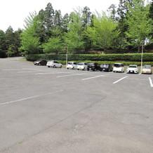 300台平置きの駐車場