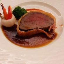 とても美味しかったお肉料理です