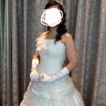 とっても素敵なドレスに出会えました