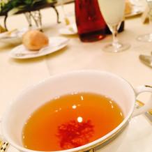 コンソメスープ(金箔入)