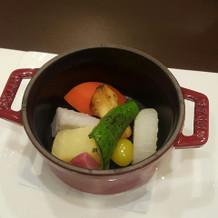 京野菜蒸し