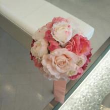 挙式場の花