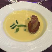 フォアグラ、スープ