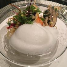 加賀野菜のパスタ