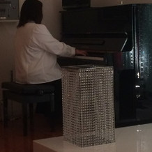 ピアノ演奏もしてくれます