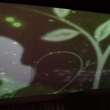 天井の映像②