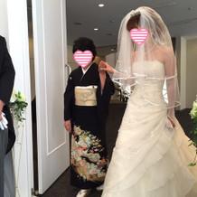 ドレス小物すべてプラン内です