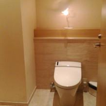 トイレ2広いです