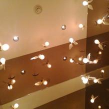 ライトが可愛いです