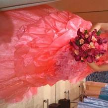 タカミさんのドレス