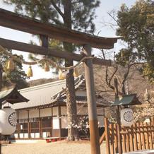 神前式   神社