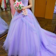 ラプンツェルみたいなドレス