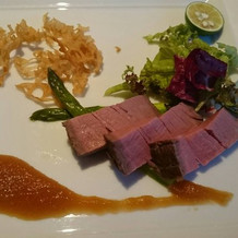 お箸で食べられるほど柔らかな牛フィレ肉