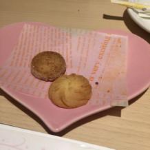 クッキーはとても美味しかったです。