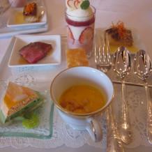 コース料理の試食