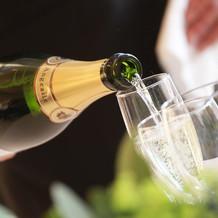 シャンパン最高