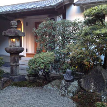 和風庭園でフォト♪