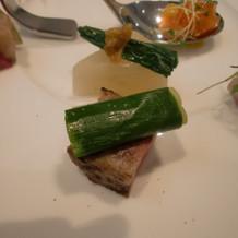 肉と野菜のコラボ